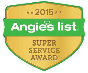 Crown Light Studio is awarded the 2015 Angie's List Super Service Award